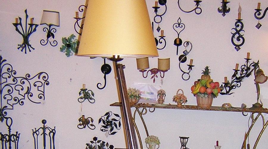 Lampadari e piantane